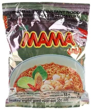 Лапша быстрого приготовления Mama со вкусом кремовый том-ям 55 г