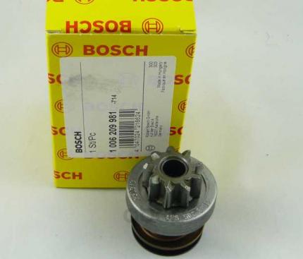 Бендикс стартера Bosch 1006209981