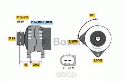 Генератор Bosch 0124325004