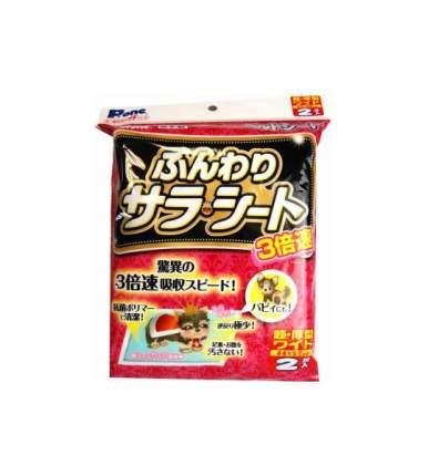 Пеленка для домашних животных Premium Pet Japan многодневная 44х59 см 2 шт