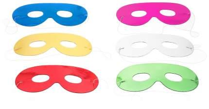 Набор детских масок Snowmen Е0306 Синий, зеленый, красный, желтый, розовый, белый