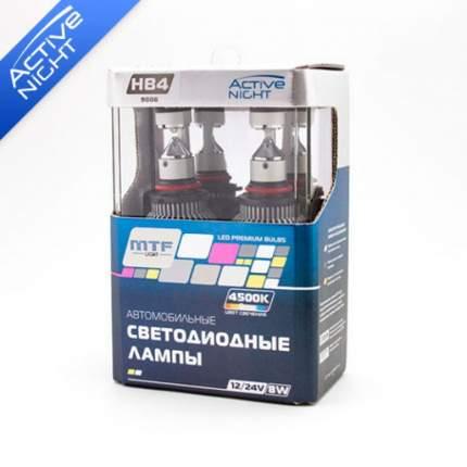 Светодиодная лампа HB4 MTF-Light Active Night LED 4500К