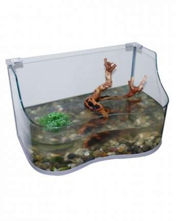 Палюдариум для черепах Lucky Reptile Turtle-Tarrium, серебряный, 80 x 50 x 45 см
