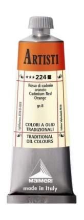 Масляная краска Maimeri Artisti 224 кадмий красно-оранжевый 60 мл