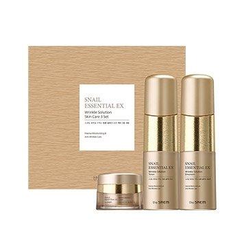 Набор для лица The Saem Snail Essential EX Wrinkle Solution Skin Care 2 Set
