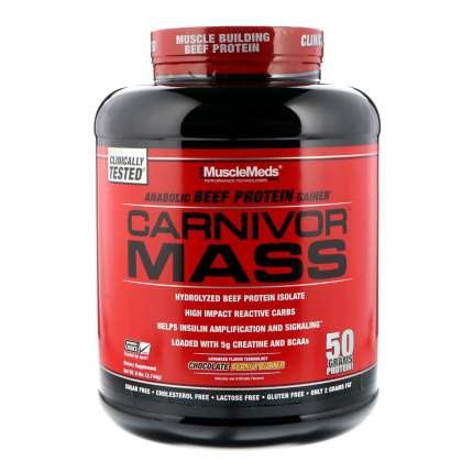 Гейнер Musclemeds Carnivor Mass 2590 г Chocolate Fudge
