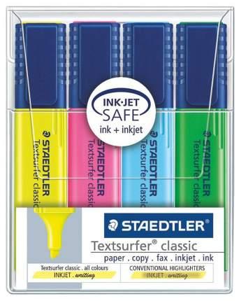 Текстовыделитель Staedtler Textsurfer classic 4 шт