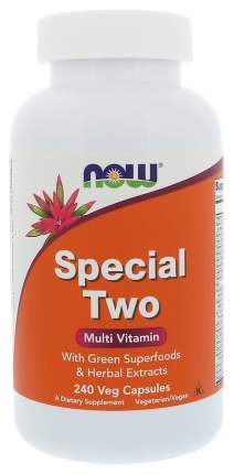 Витаминный комплекс NOW Special Two Multi Vitamin 240 капс. без вкуса
