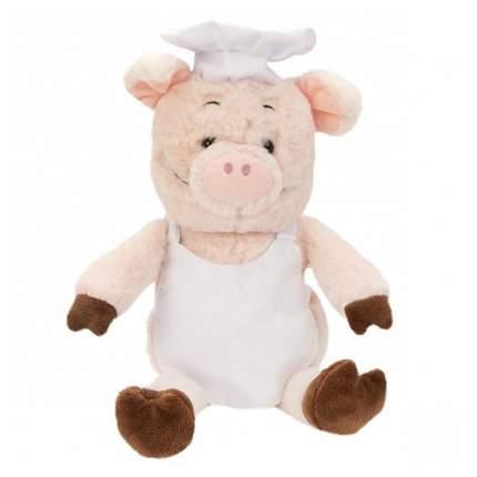 FLUFFY FAMILY Мягкая игрушка Поросенок Поваренок, 21 см 681536