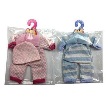 НАША ИГРУШКА Комплект одежды для куклы Теплый, 3 предмета YLC35A