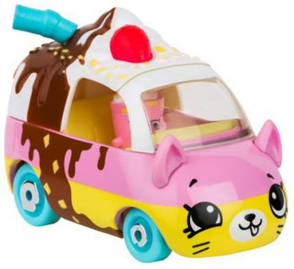 Машинка пластиковая Cutie Cars Roller shaker с фигуркой Shopkins, 3 сезон