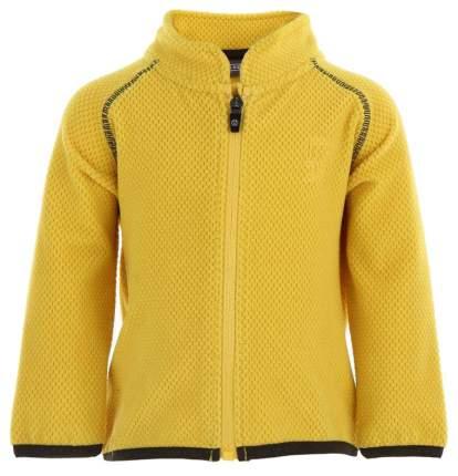 Толстовка флисовая Color Kids Tabot 102850 р.80-86 Желтая