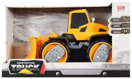 Машинка Наша игрушка Экскаватор снегоуборочный 6655-6