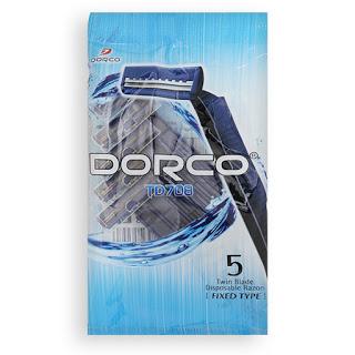 Одноразовый бритвенный станок DORCO 5 шт