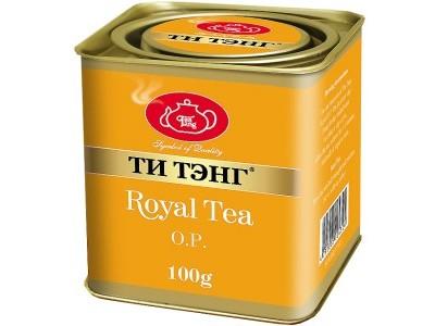 Чай весовой черный Ти Тэнг Royal Tea O.P. 100 г