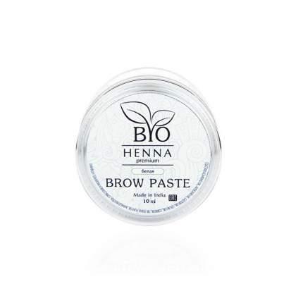 Паста для бровей Bio Henna Premium White BRP-4