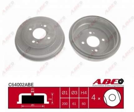 Тормозной барабан ABE C64002ABE