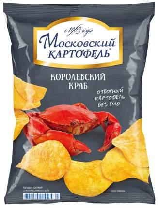 Чипсы картофельные Московский картофель королевский краб 150 г