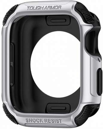 Чехол Spigen Tough Armor (062CS24478) для Apple Watch series 4 44mm (Silver)