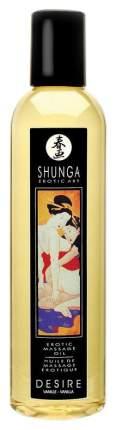 Массажное масло Shunga Desire с ароматом ванили возбуждающее 250 мл