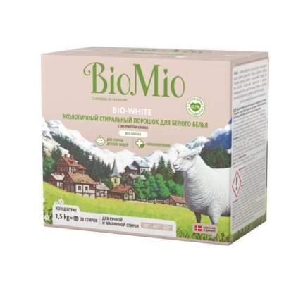 Порошок для стирки BioMio для белого белья 1.5 кг