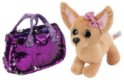 Мягкая игрушка животное Играем Вместе Собака чихуахуа CT181115-19R2
