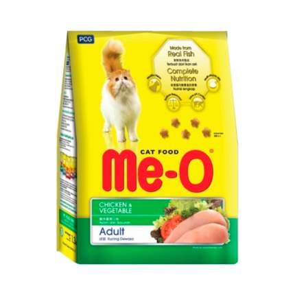 Сухой корм для кошек Me-O Adult, курица с овощами, 1,2кг