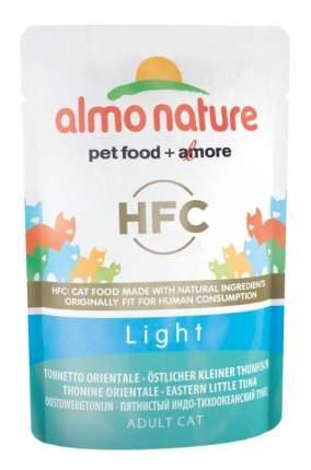 Влажный корм для кошек Almo Nature HFC Light, тунец, 6шт, 55г