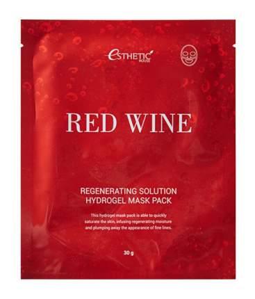 Маска для лица Esthetic House Red Wine Regenerating Solution Hydrogel Mask Pack 28 мл