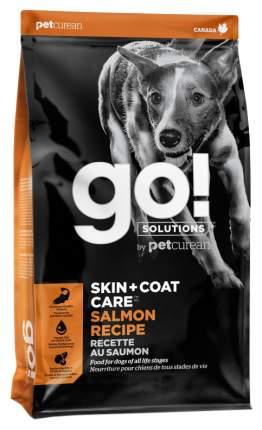 Сухой корм для собак GO! Skin + Coat Care Salmon Recipe, лосось, овес, 11,35кг