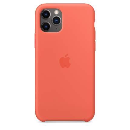Чехол Apple для iPhone 11 Pro Silicone Case - Clementine (Orange)