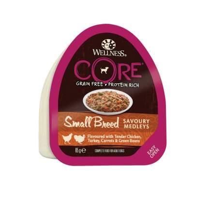 Консервы для собак Wellness CORE Small Breed, попурри из курицы с индейкой, 85г