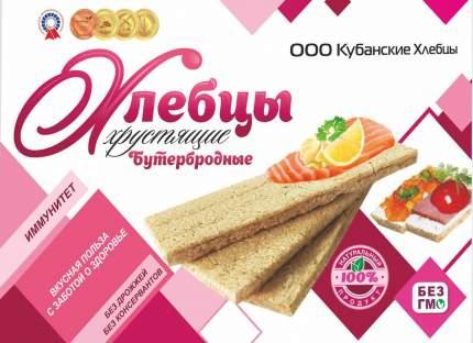 Хлебцы бутербродные хрустящие Кубанские 100 г