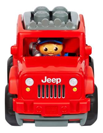 Маленький внедорожник Mega Bloks Jeep