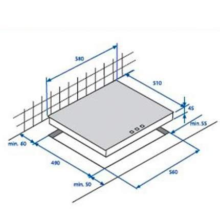 Встраиваемая варочная панель индукционная Beko HII 64400 ATX Black