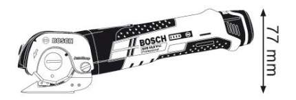 Аккумуляторные ножницы Bosch GUS 10,8V-LI 06019B2901 БЕЗ АККУМУЛЯТОРА И З/У