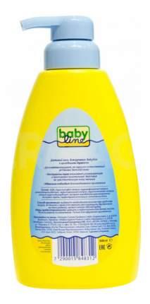 Гель для купания babyline с целебными травами для детей с первых дней жизни, 500 мл