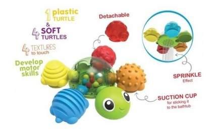 Игрушка для малышей для купания черепашка