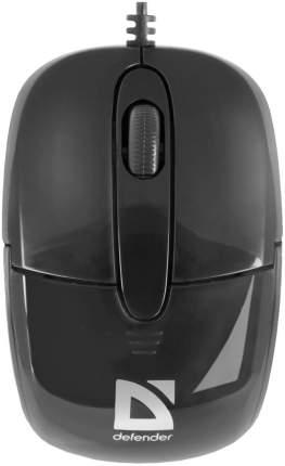 Проводная мышка Defender Optimum MS-130 Black (52130)