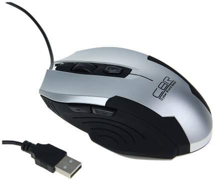 Проводная мышка CBR CM 333 Silver/Black