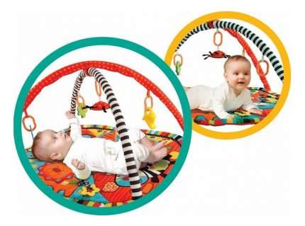 "Развивающий коврик Жирафики ""Ушастики с 6 развивающими игрушками"""