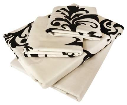 Комплект постельного белья Tete-a-tete premium sateen семейный Т-8017