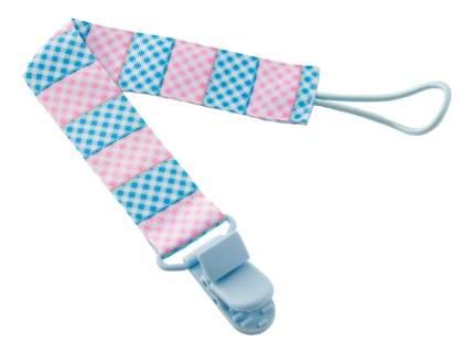 Держатель для пустышки ROXY-KIDS Голубо-розовый