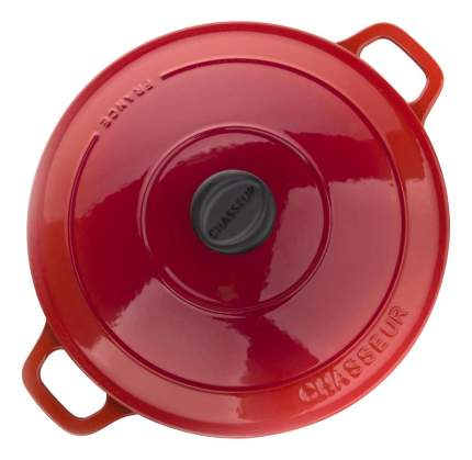 Кастрюля для запекания CHASSEUR Чугунная 3,8 л алый