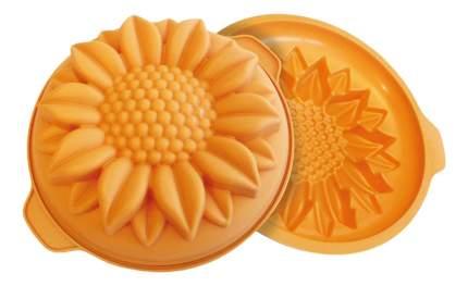 Форма для выпечки SILIKOMART Подсолнух 26 см желтая