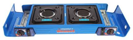 Газовая плита Следопыт UltramaX двойная (с переходником)