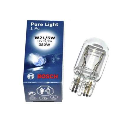 Лампа BOSCH 21W W21/5W 1987302252