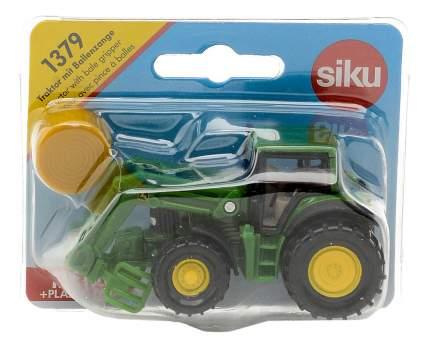 Трактор Siku с кипоукладчиком 1379