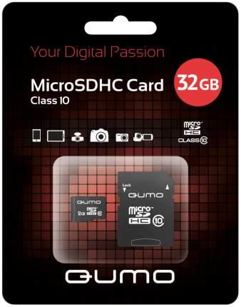 Карта памяти QUMO Micro SDHC QM32GMICSDHC10 32GB