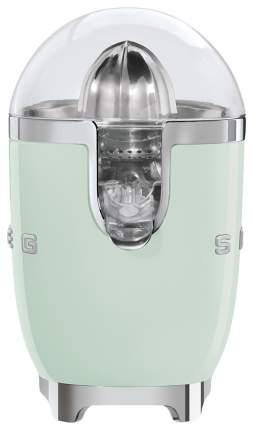 Соковыжималка для цитрусовых Smeg CJF01PGEU green/silver